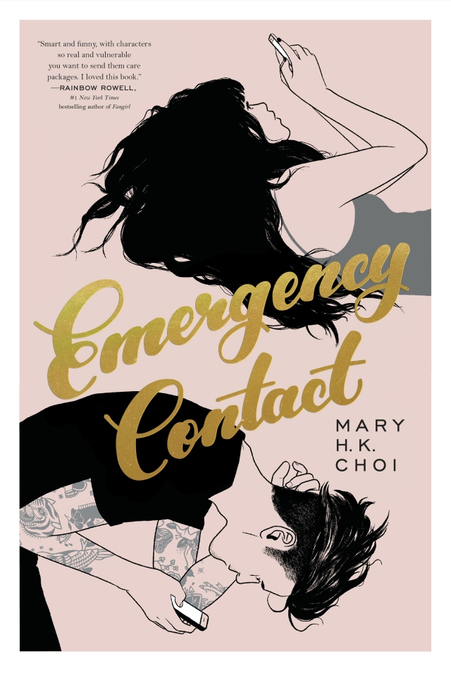Emergency Contact (Book Cover)