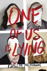 One of Us Is Lying (Book Cover)