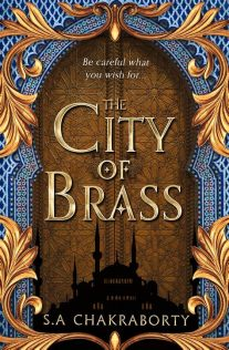 The City of Brass (Book Cover)