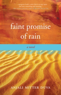Faint Promise of Rain (Book Cover)