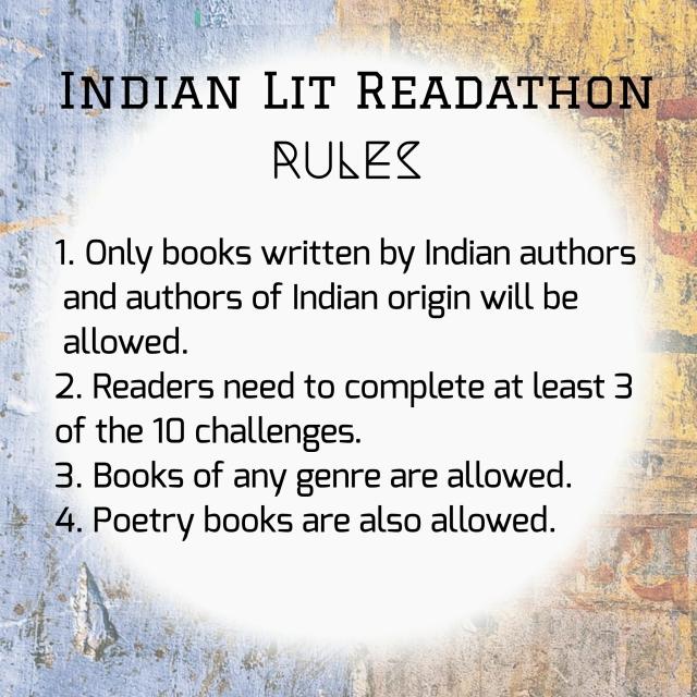 Indian Lit Readathon Rules