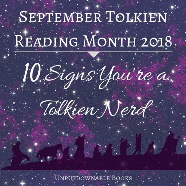 STRM - Tolkien Nerd Signs
