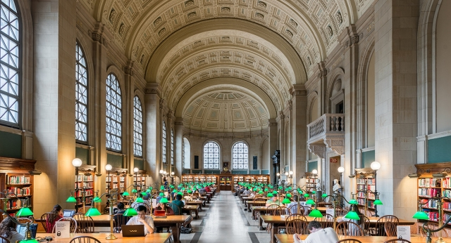Boston Public Library 1