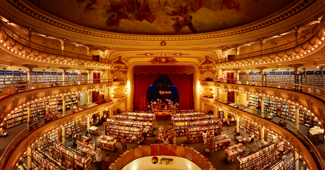 El Ateneo Grand Splendid Argentina 1