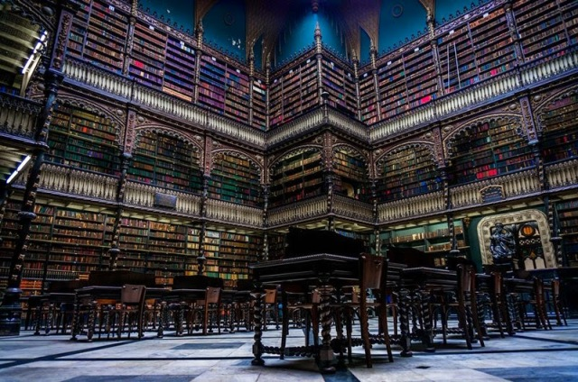 Royal Portugese Brazil Library 2