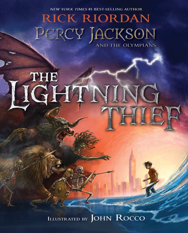 The Lightning Thief (Illustrated edition)